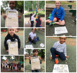 Year 1 English, Maths and Art Outdoors!