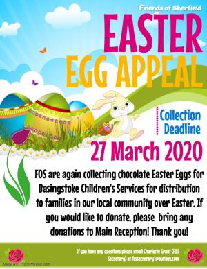 Friends of Sherfield Easter Egg Collection