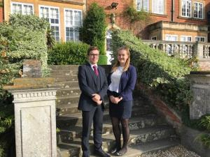 A message from the Head Boy and Head Girl