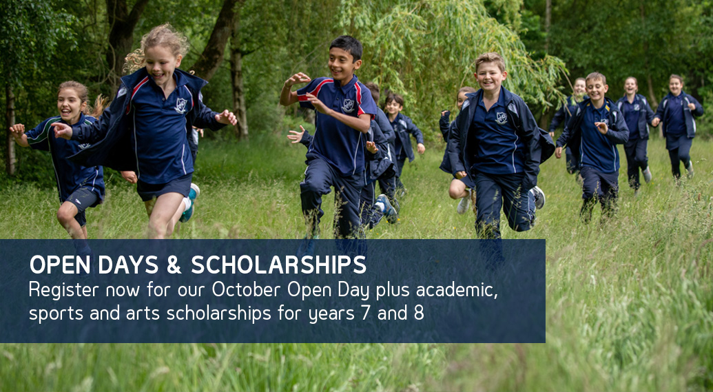 October Open Day and Scholarships