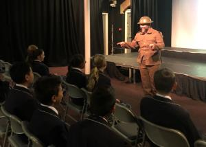 Year 6 experience World War 1
